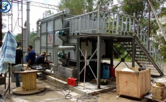Carbonizing Machine Was Installed in Malaysia